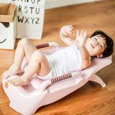 寶寶洗頭椅小孩洗頭床加大號兒童可折疊躺椅嬰兒洗發架浴床浴盆igo 酷男精品館