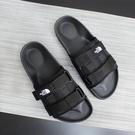 【折後$1580再送贈品】CLASSICK- The North Face Slide 北臉 魔鬼氈 可調式 拖鞋 黑白 男女 NS98L16A