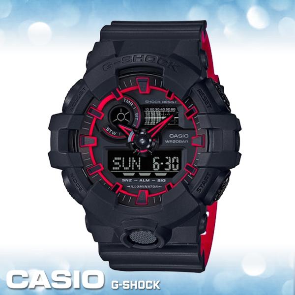 CASIO 手錶專賣店   CASIO G-SHOCK_GA-700SE-1A4_200米防水_耐衝擊_街頭時尚_世界時間_碼錶