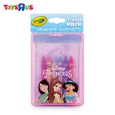 玩具反斗城 CRAYOLA 隨行蠟筆著色套裝-迪士尼公主