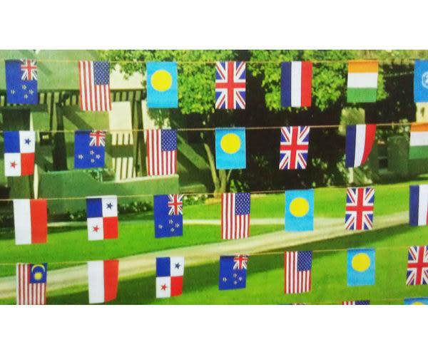 萬國旗 20面國旗 尼龍布料 派對 宴會 活動 佈置