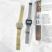 方形手錶ins方形復古文藝方錶韓版簡約潮流ulzzang小錶盤男女學生電子手錶 玩趣3C