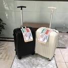 行李箱 出口日本密碼箱小型行李箱女24寸輕便24寸拉鏈小號pc拉桿箱男個性 DF 維多原創