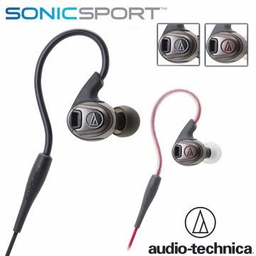 [nova成功3C]鐵三角 ATH-SPORT3 防水運動型專用耳塞式耳機