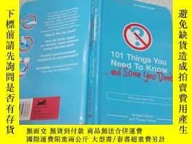 二手書博民逛書店101罕見things you need to know你需要知道的101件事Y200392