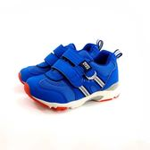 日本月星MOONSTAR 魔鬼氈機能學步鞋 《7+1童鞋》B483 藍色