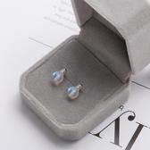 【新飾界】日韓個性小燈泡耳釘女純銀新款小巧耳環