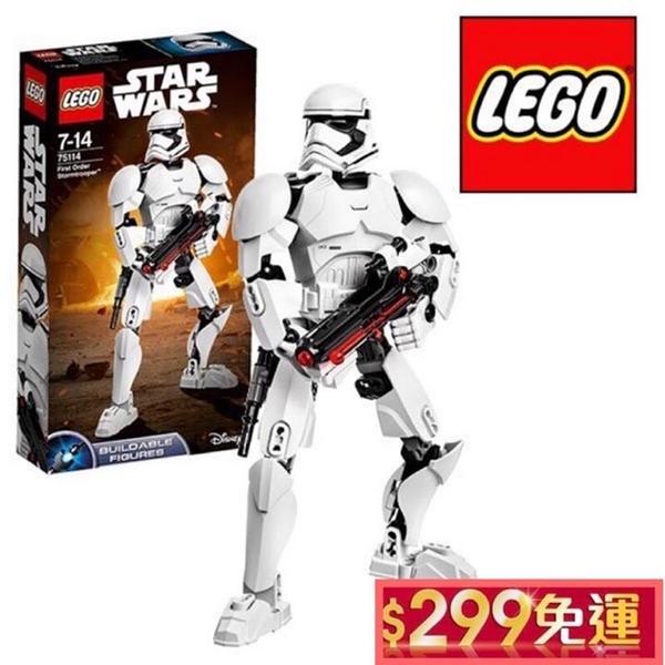 LEGO 75114 樂高 星際大戰系列 白兵 First Order Stormtrooper