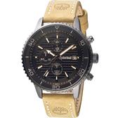 Timberland 天柏嵐 探險家皮革腕錶(TBL.15952JYU/02)45mm