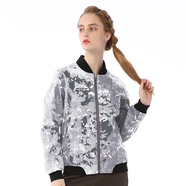 【TAKAKA】中性 迷彩保暖飛行外套『迷彩淺灰』R52278 戶外 休閒 運動 露營 登山 外套 保暖 禦寒