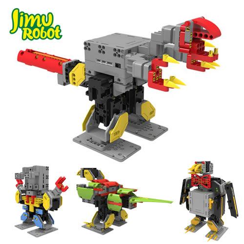JIMU 積木智能機器人組裝電動遙控拼裝模型兒童玩具 探索者版
