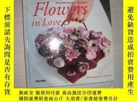二手書博民逛書店Moniek罕見Vanden berghe:Flowers in Love 3【107】photography:k