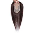 假髮片(真人髮絲)-頭頂遮蓋白髮30cm...