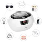 cadrim【日本代購】超聲波清洗機600ml 定時器 時間顯示/眼鏡/假牙/手錶UC10858