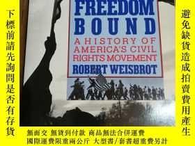 二手書博民逛書店Freedom罕見Bound: A History of Ame