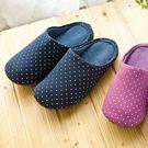 UCHINO  圓點室內拖鞋  柔軟舒適...