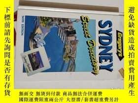 二手書博民逛書店SYDNEY罕見Street Directary 悉尼街道目錄(