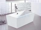 【麗室衛浴】BATHTUB WORLD  造型壓克力獨立缸 LS-1073E 170*80*60cm