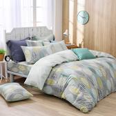 鴻宇 四件式雙人薄被套床包組 瓦妮莎 美國棉授權品牌 台灣製2157