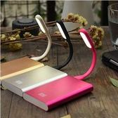 USB角度可調 節能柔光護眼 LED燈(一組2入顏色隨機出貨)