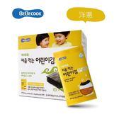 韓國 智慧媽媽 嬰幼兒海苔 洋蔥
