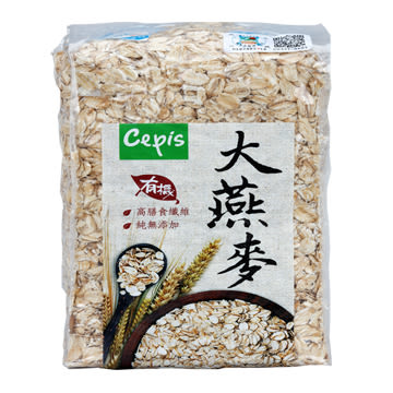 Cepis│有機大燕麥片500g