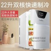 冷藏櫃 車載迷你冷凍小冰箱20升小型車家兩用宿舍出租房單人mini 每日下殺NMS