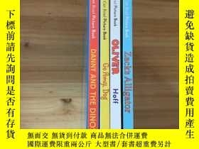 二手書博民逛書店danny罕見and the dinosaur zacks al