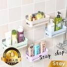 【Stay】不用釘子 無痕浴室置物架 廚房置物架 浴室置物架 廁所置物架 收納架 無痕架【N24】