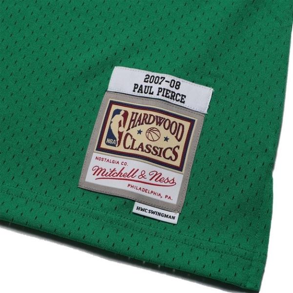 MITCHELL & NESS M&N 球衣 聖派翠克 PAUL PIERCE 07-08 賽爾提克 綠 球迷版 (布魯克林) MNSWJG2203H