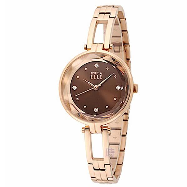 ELLE (ES21018B03X) 時尚 玫瑰金 女錶/32mm