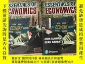 二手書博民逛書店Essentials罕見of Economics 經濟學基礎 第8版 英語 原版 作者 John Sloman 2