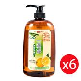 楓康一滴淨蘆薈多酚洗潔精-柑橘植萃 1000g X6入