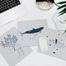鼠標墊 木與石原創手繪插畫游戲加厚個性鼠標墊布面彩繪創意防滑樹脂橡膠 【618 大促】