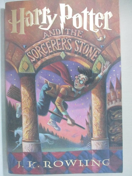 【書寶二手書T9/原文小說_J8H】Harry Potter and the Sorcerer s Stone_J. K. Rowling