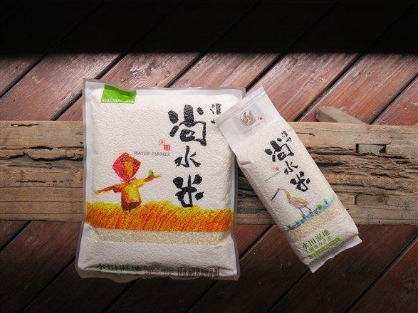 【溪州尚水米】白米(2公斤)‧樸實包 x4包 ~挺農村,吃好米,顧健康,造生態!