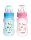 優生 真母感特護玻璃奶瓶一般口徑120ml(藍.粉) 【德芳保健藥妝】顏色隨機出貨