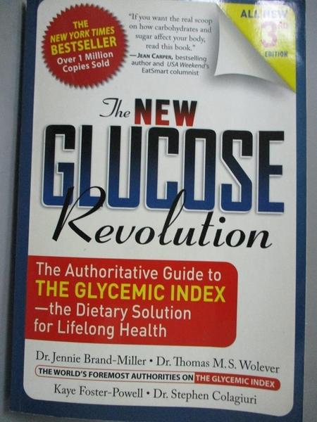 【書寶二手書T3/原文小說_JLF】The New Glucose Revolution: The Authoritat
