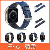 蘋果 iWatch1234 丹寧錶帶 蘋果錶帶 牛仔文錶帶