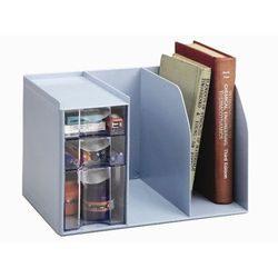 《享亮商城》H-301 創新書架整理盒(內附文具整理盒)