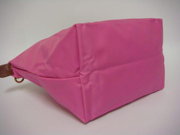 LONGCHAMP 摺疊水餃包 S短帶 泡泡粉(粉紅色) (小款)