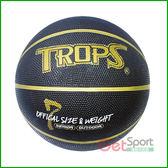 成功牌7號籃球(黑色金溝款)