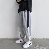 2020夏季薄款褲子男韓版潮流寬鬆長褲潮牌束腳網紅休閒九分運動褲 黛尼時尚精品