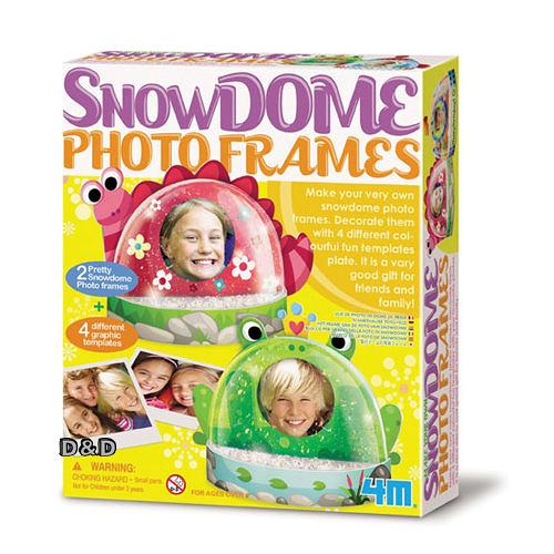 《 4M美勞創作 》Snow Dome Photo Frames 趣味雪花相框    ╭★ JOYBUS玩具百貨