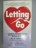 【書寶二手書T4/原文小說_LPD】Letting Go_Dr. Zev Wanderer