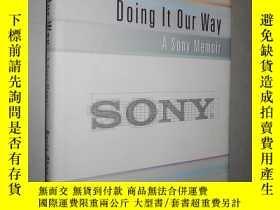 二手書博民逛書店Doing罕見It Our Way: A Sony Memoir