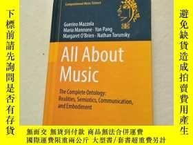 二手書博民逛書店All罕見About Music: The Complete O