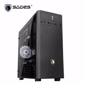 【綠蔭-免運】SADES BENNU 貝努鳥-黑 一大 U3 透側電競機殼
