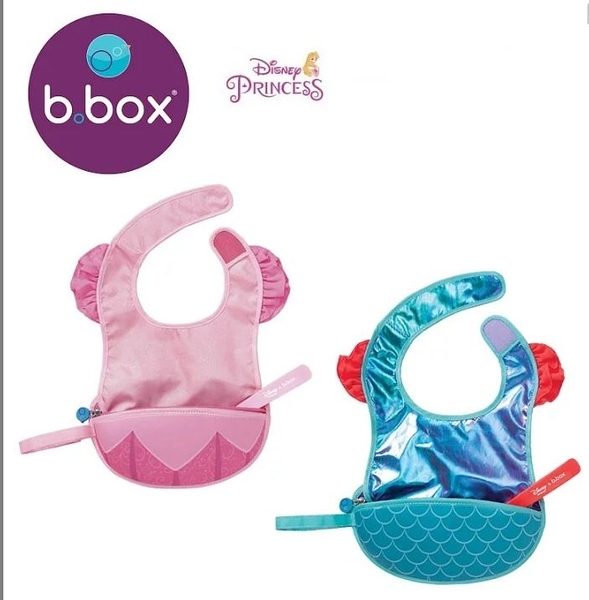 澳洲 b.box 迪士尼旅行圍兜袋(美人魚)