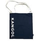 【南紡購物中心】~雪黛屋~KANGOL 托特包大容量可A4資料夾進口防水尼龍布簡易式主袋
